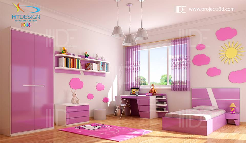 Interior design – Kids rooms