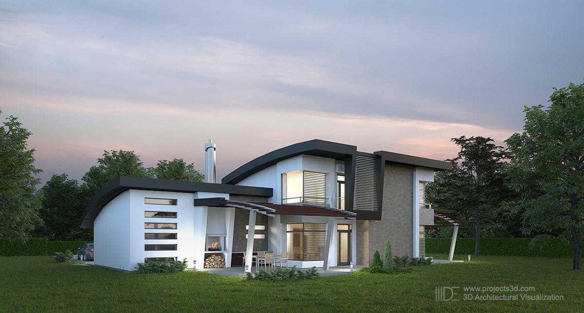 Модернистична архитектура – къща в Приморско от V&V Architects