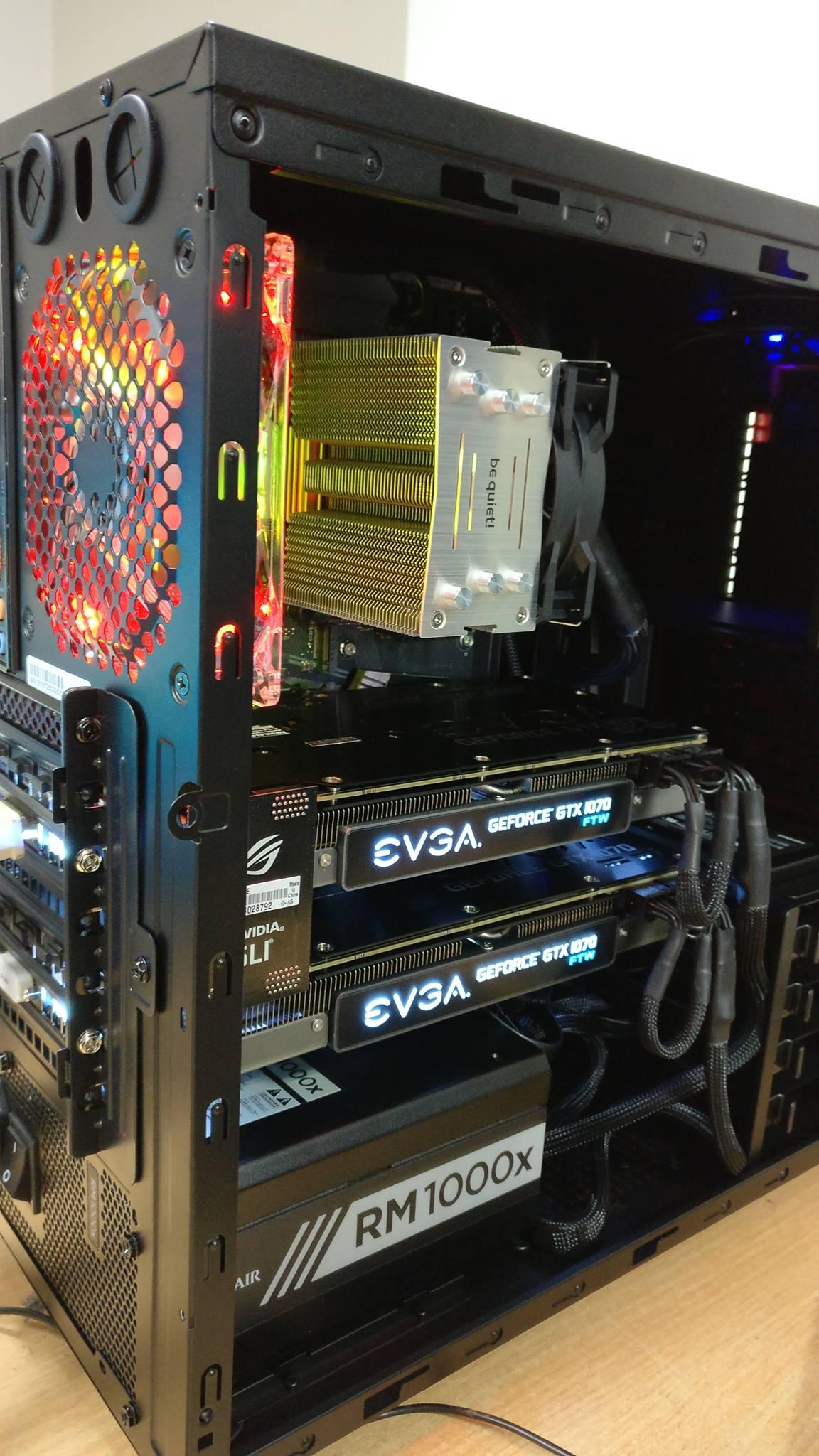 Новата ни рендер машина с GPU мощност